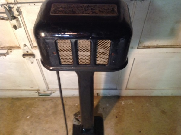 1920 S Art Deco Industrial Sani Dri Hand Dryer 171 Obnoxious