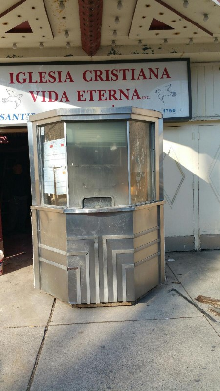 Antique Art Deco Movie Theater Ticket Booth 171 Obnoxious