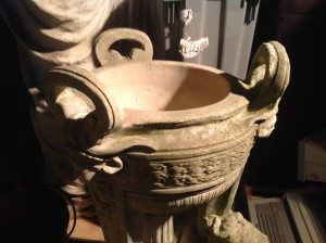urn garden  little boy 4jpg