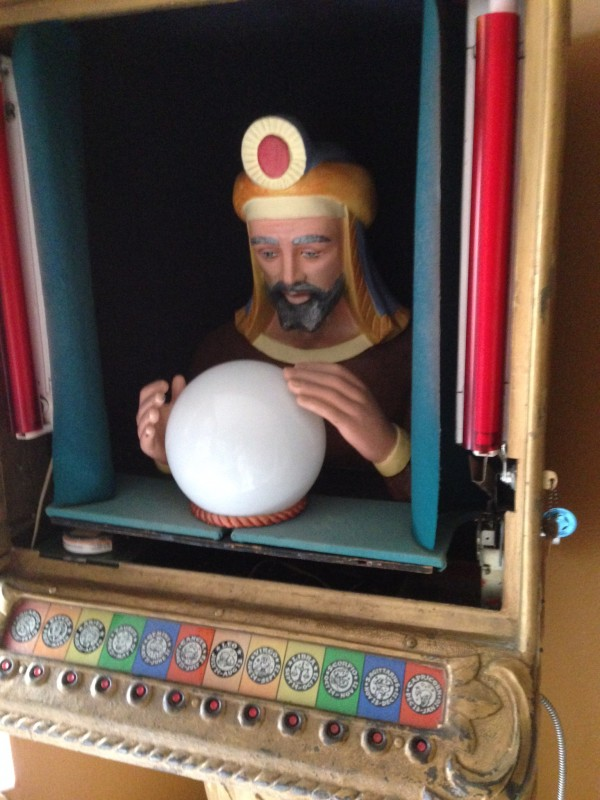 Zoltan Penny Arcade Fortune Teller Machine 171 Obnoxious