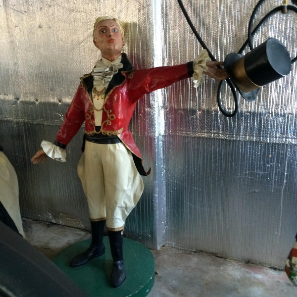 Vintage Danbury Fair Ring Master Statue From The P T