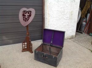 funeral palor wooden card holder 6