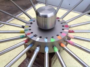 gambling wheel bears 5
