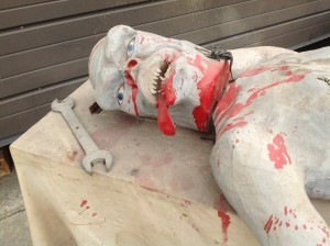 haunted house animated prop mad scincetist 13