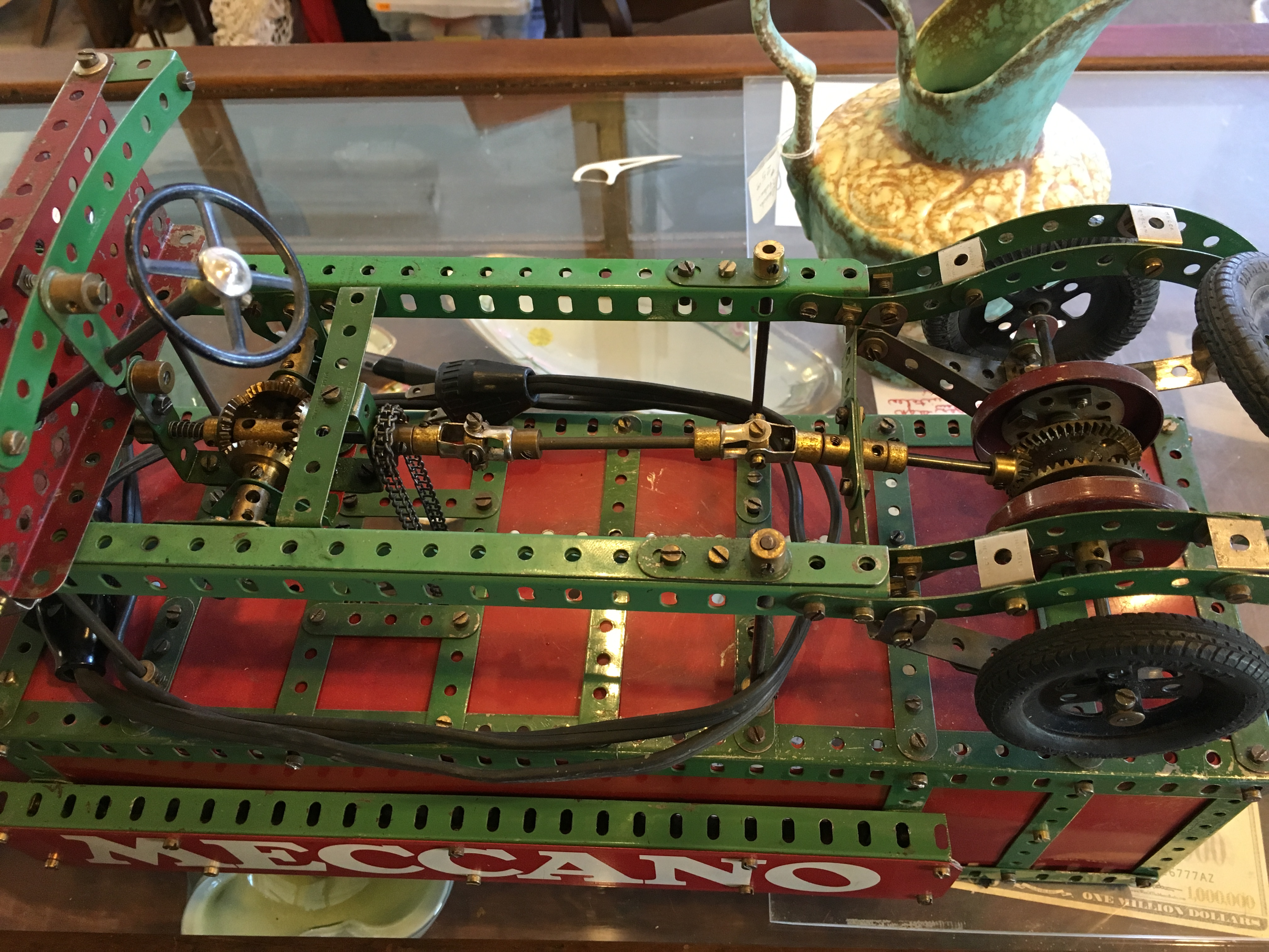 Vintage Toy Store Animated Meccano Car Display 171 Obnoxious