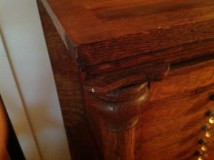 dental cabinet oak 2