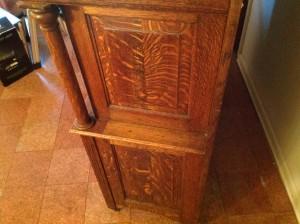 dental cabinet oak 5