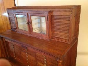 dental cabinet oak 6