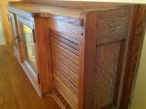 dental cabinet oak 7