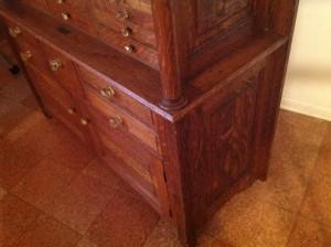 dental cabinet oak 9