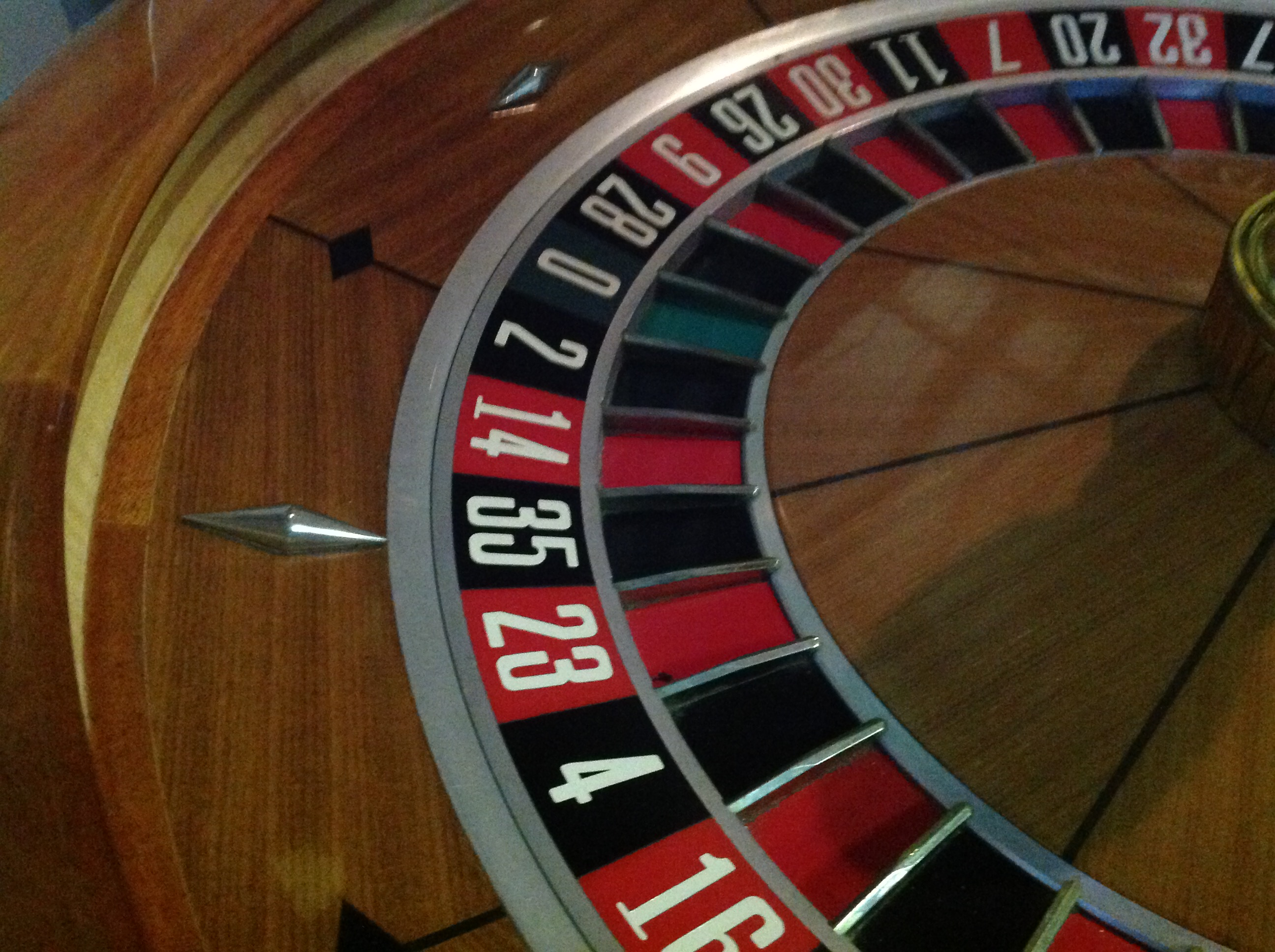 Real Roulette Wheel