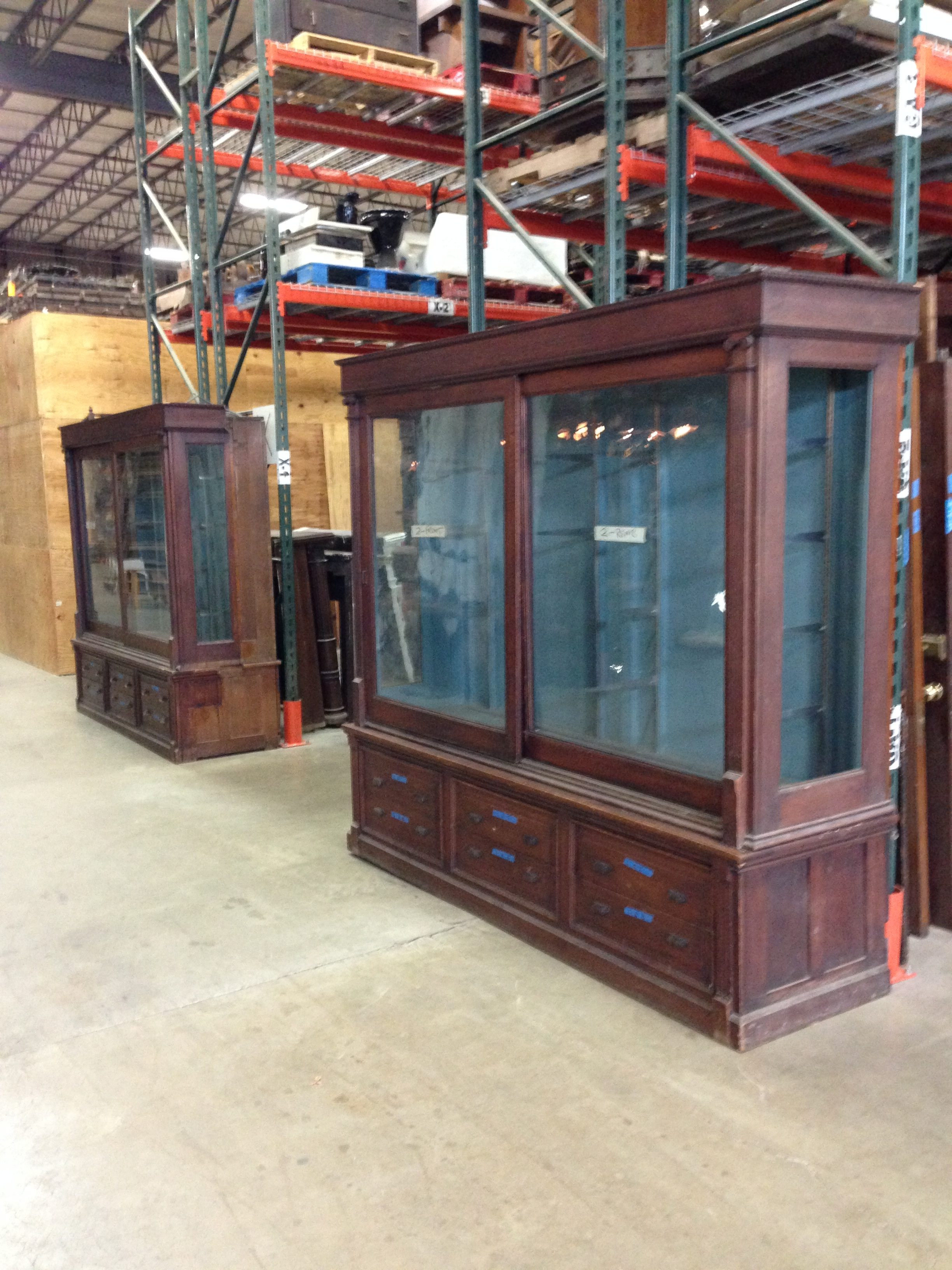 Antique Jewelry Store Display Cabinet Case 171 Obnoxious