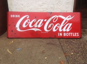 coke sign 5foot long 1