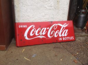 coke sign 5foot long 2