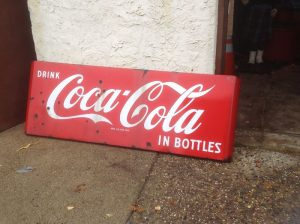 coke sign 5foot long 3