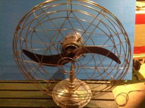 fan small mid century 1