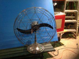fan small mid century