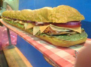 sandwhich 6 foot 2