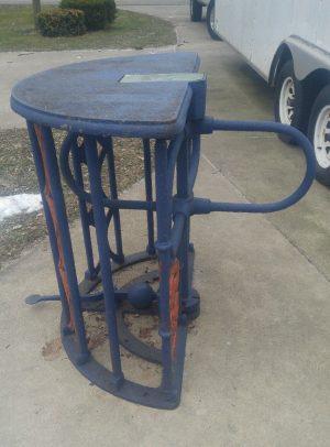 turnstile cast iron 7