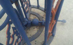 turnstile cast iron 8