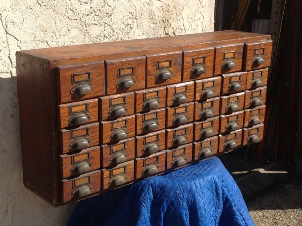 antique Multi Drawer General Store Cabinet 171 Obnoxious