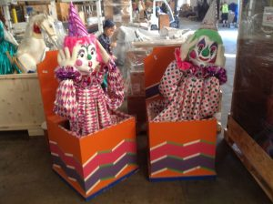 animated clowns pair