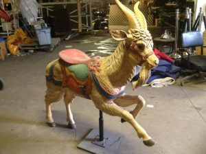 carousel animal goat 4