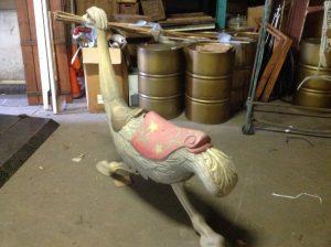 carousel animal ostrich 2