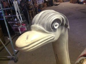 carousel animal ostrich 4