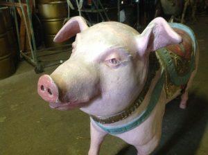 carousel animal pig 3
