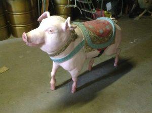 carousel animal pig