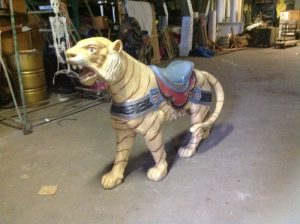 carousel animal tiger 1