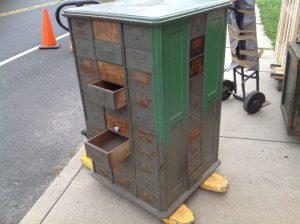 hardware cabinet green