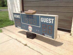 scoreboard vintage boys club 1