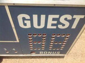 scoreboard vintage boys club 10