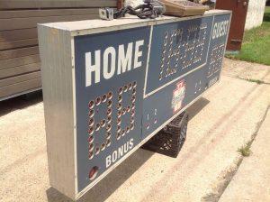 scoreboard vintage boys club 5