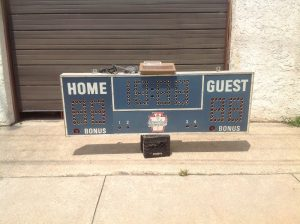 scoreboard vintage boys club 7