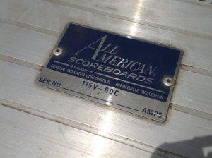 scoreboard vintage boys club 8jpg