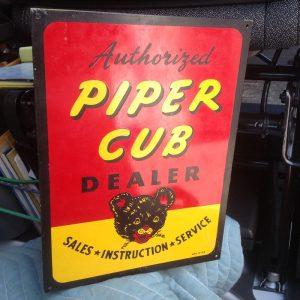 sign piper cub 1