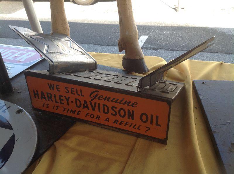 Vintage Harley Davidson Dealership Counter Manual Holder « Obnoxious