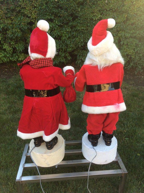 vintage mr   u0026 mrs  santa clause gale animated christmas