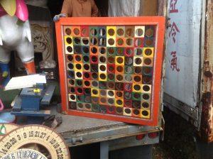 carnival board holes square