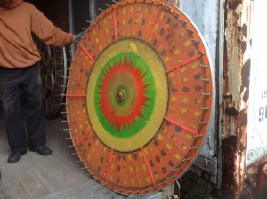 evans wheel fruit