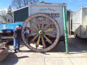 gambling wheel huge ky