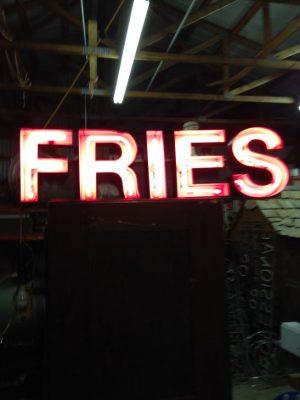 neon fries sign 3