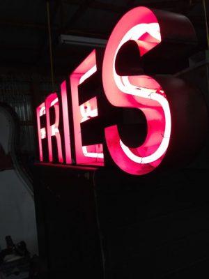 neon fries sign 5