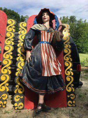 danbury fair giant lady