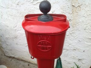 ball washer golf red 1