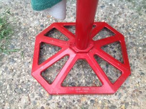 ball washer golf red 2