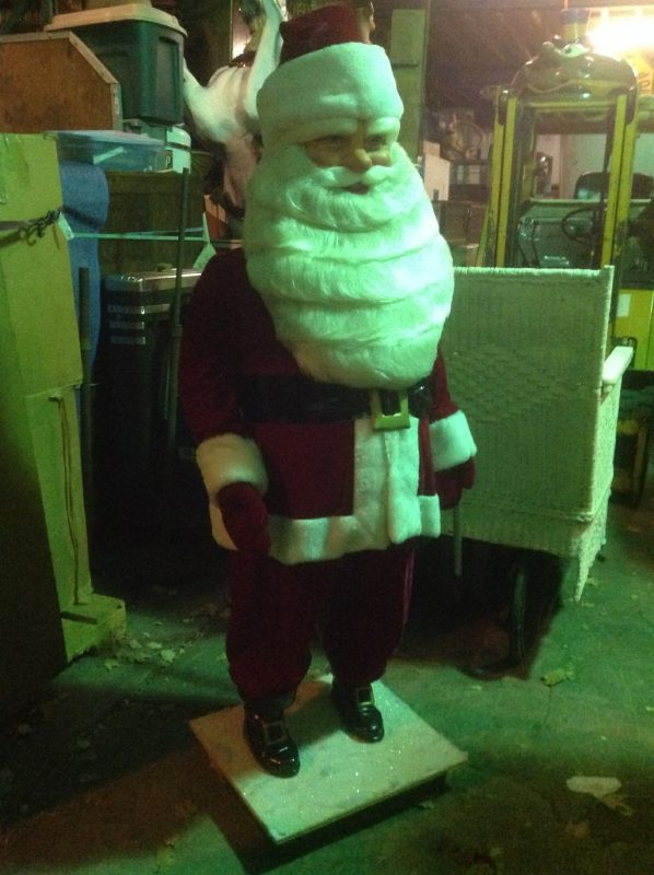 Vintage Harold Gale Animated Santa Claus Store Window